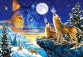 PUZZLE 1000 CASTORLAND HOWLING WOLVES WILKI-9200