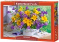 PUZZLE 1000 CASTORLAND BOUQUET OF LILIES AND BELLF-13582