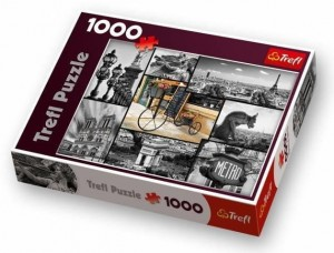 PUZZLE 1000 TREFL PARIS COLLAGE