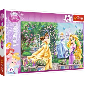 PUZZLE 260 TREFL SPACER PRZED BALEM DISNEY