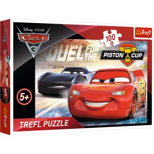 PUZZLE 100 TREFL CARS 3 PISTON CUP