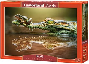 PUZZLE 500 CASTORLAND THE DAREDEVIL FROG