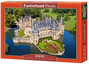 PUZZLE 1000 CASTORLAND CHATEAU OF THE LOIRE VALLEY