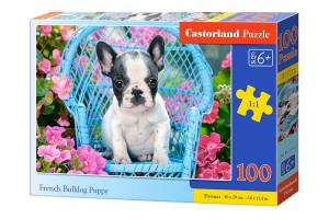 PUZZLE 100 CASTORLAND FRENCH BULLDOG PUPPY