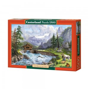 PUZZLE 1500 CASTORLAND IN HARMONY WITH NATURE