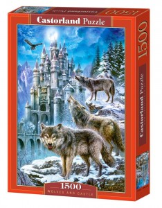 PUZZLE 1500 CASTORLAND WOLVES AND CASTLE