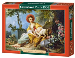PUZZLE 1500 CASTORLAND A YOUNG WOMAN SEATED