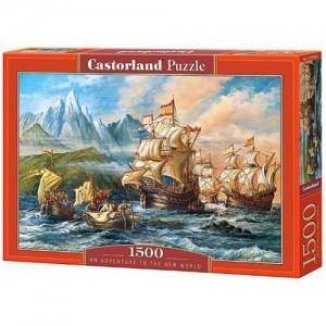 PUZZLE 1500 CASTORLAND AN ADVENTURE TO THE NEW