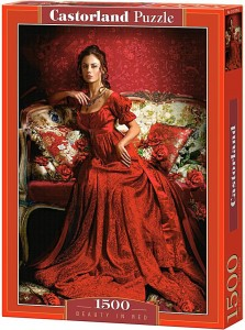 PUZZLE 1500 CASTORLAND BEAUTY IN RED