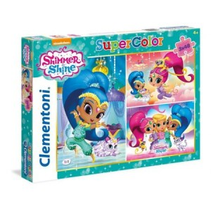 PUZZLE 3W1 3X48 CLEMENTONI SHIMMER AND SHINE