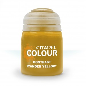 CITADEL COLOUR CONTRAST IYANDEN YELLOW 29-10