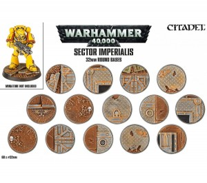 WARHAMMER 40.000 SECTOR IMPERIALIS 32mm 66-91