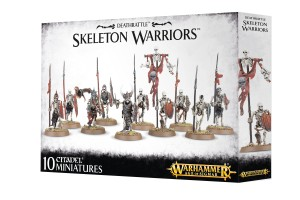 WARHAMMER AGE OF SIGMAR SKELETON WARRIORS 91-06
