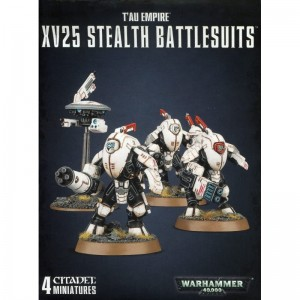 WARHAMMER 40.000 TAU EMPIRE XV25 STEALTH BATTLESUI