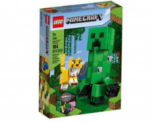 LEGO MINECRAFT 21156  BIG FIT CREEPER I OCELOT