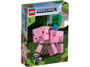 LEGO MINECRAFT 21157 BIG FIG ŚWINKA
