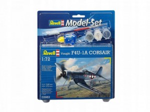 REVELL MODEL SET F-4U-1A CORSAIR