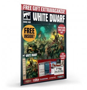 WHITE DWARF WARHAMMER ISSUE 458