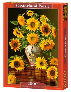 PUZZLE 1000 CASTORLAND SUNFLOWERS IN A VASE