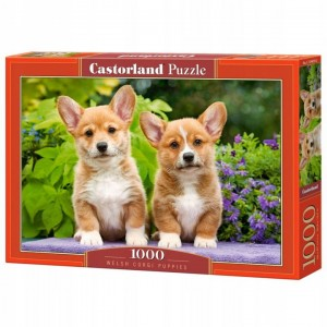 PUZZLE 1000 CASTORLAND WELSH CORGI PUPPIES