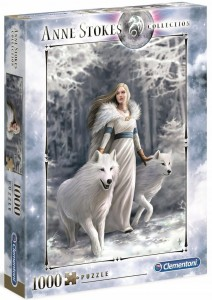 PUZZLE 1000 CLEMENTONI A.STOKES WINTER GUARDIAN