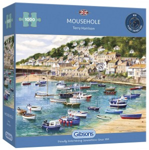 PUZZLE 1000 GIBSONS MOUSEHOLE TERRY HARRISON