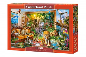 PUZZLE 1000 CASTORLAND COMING TO ROOM