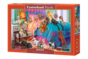 PUZZLE 1000 CASTORLAND NAUGHTY PUPPIES