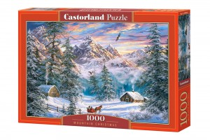 PUZZLE 1000 CASTORLAND MOUNTAIN CHRISTMAS