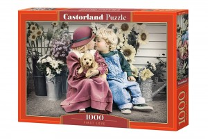 PUZZLE 1000 CASTORLAND FIRST LOVE
