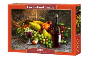 PUZZLE 1000 CASTORLAND FRUIT AND WINE