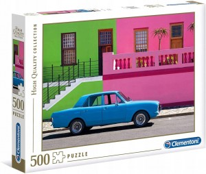 PUZZLE 500 CLEMENTONI THE BLUE CAR