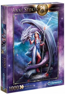 PUZZLE 1000 CLEMENTONI A.STOKES DRAGON MAGE