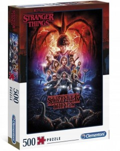 PUZZLE 500 CLEMENTONI STRANGER THINGS