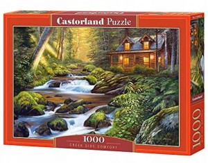 PUZZLE 1000 CASTORLAND CREEK SIDE COMFORT CHATKA