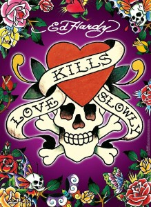 PUZZLE 500 RAVENSBURGER LOVE KILLS SLOWLY