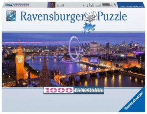 PUZZLE 1000 RAVENSBURGER PANORAMA LONDYNU