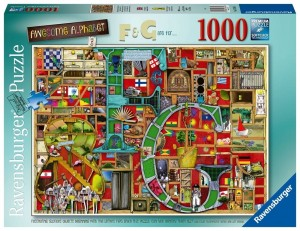 PUZZLE 1000 RAVENSBURGER NIESAMOWITY ALFABET F&G