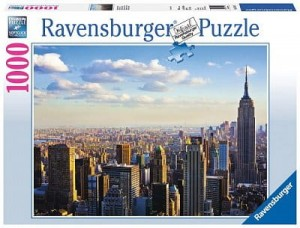 PUZZLE 1000 RAVENSBURGER MANHATTAN IN THE MORNING