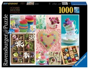 PUZZLE 1000 RAVENSBURGER COLORFUL SELECTION