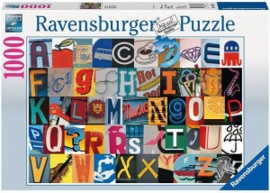 PUZZLE 1000 RAVENSBURGER COLORFUL ALPHABET