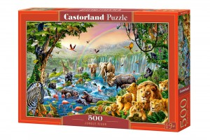 PUZZLE 500 CASTORLAND JUNGLE RIVER