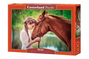 PUZZLE 500 CASTORLAND GREAT FRIENDSHIP