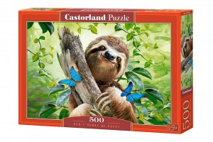 PUZZLE 500 CASTORLAND DON`T HURRY BE HAPPY