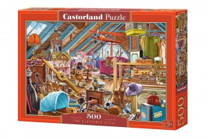 PUZZLE 500 CASTORLAND THE CLUTTERED ATTIC
