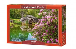 PUZZLE 500 CASTORLAND MILL BY THE POND