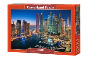 PUZZLE 1500 CASTORLAND SKYSCRAPERS OF DUBAI