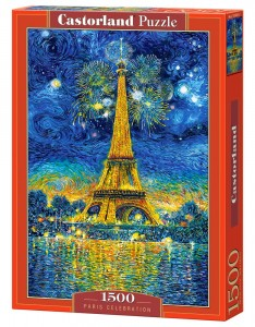 PUZZLE 1500 CASTORLAND PARIS CELEBRATION