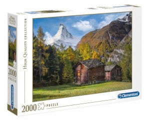 PUZZLE 2000 CLEMENTONI FASCINATION WITH MATTERHORN