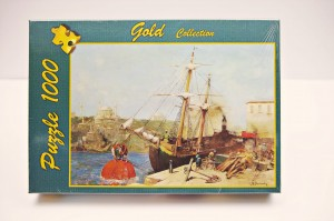 PUZZLE 1000 GOLDPUZZLE BY THE GOLDEN HORN